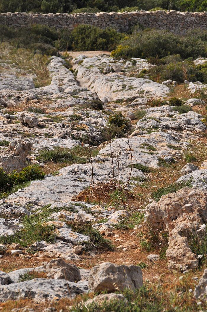 cart ruts Malte