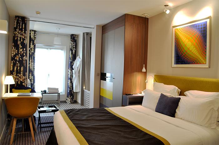 Paris Hotel Mareuil chambre