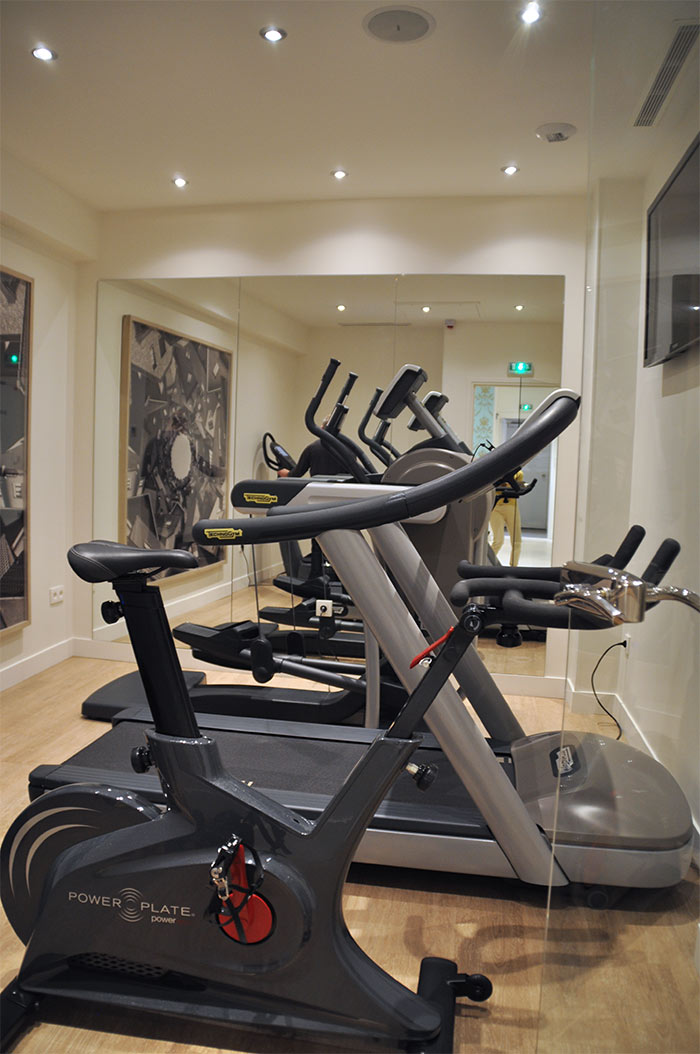 Paris Hotel Mareuil fitness