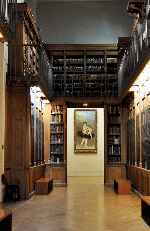 bibliothèque opera garnier paris