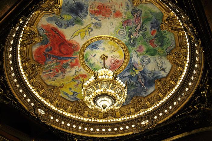 plafond opera garnier paris