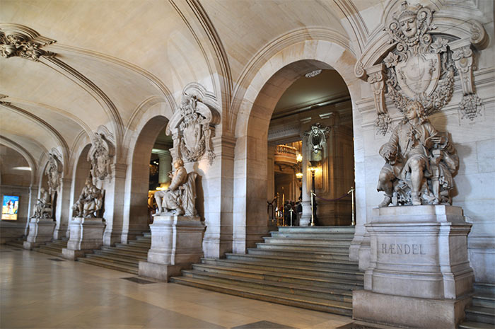 grand vestibule opera garnier paris
