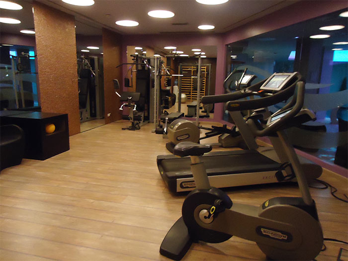 Andorre Hotel Plaza fitness