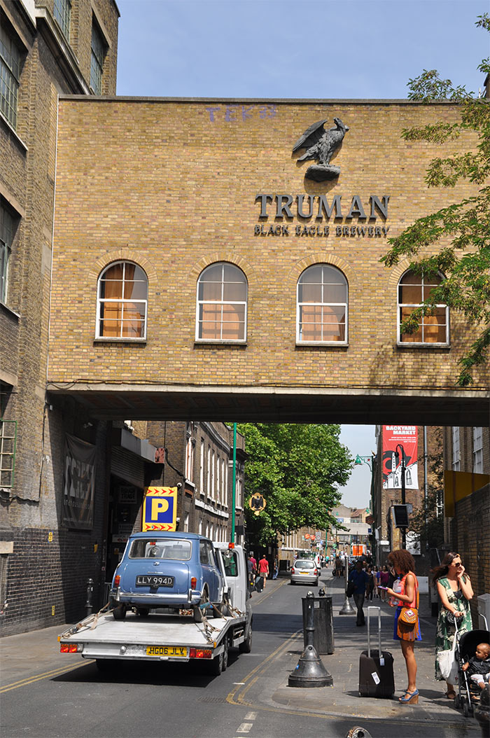 the Truman Brewery bricklane london