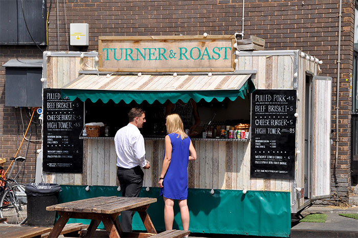Turner & Roast bricklane food truck