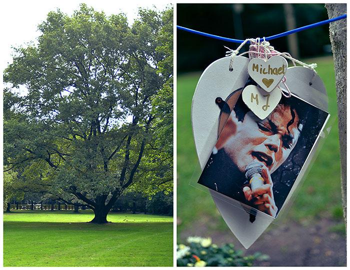 Michael Jackson tribute Tiergarten park