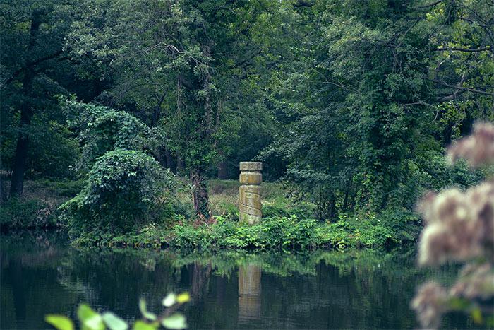 île jean jacques rousseau parc tiergarten