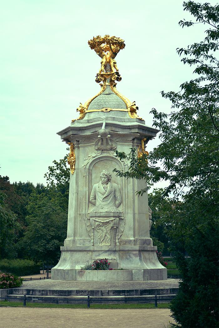 beethoven statue tiergarten