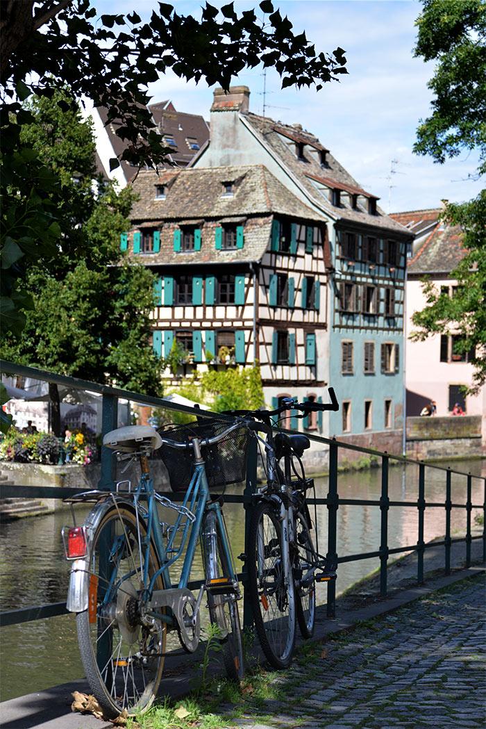 vélo petite france strasbourg