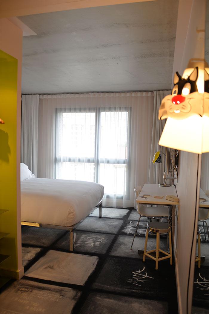 chambre mama shelter Lyon