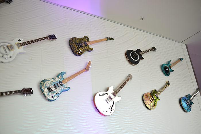 guitares NHow Berlin Allemagne