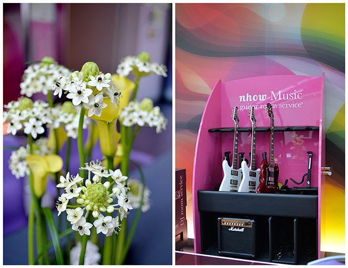 NHow Berlin guitar room service