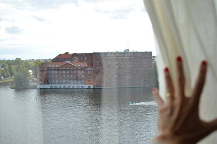 view on the spree from nhow