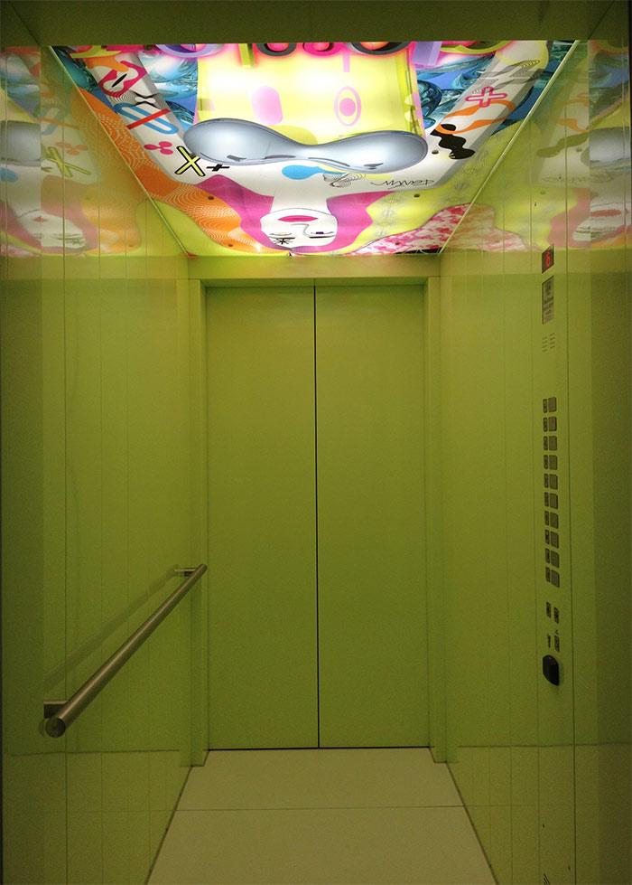 lift in nhow berlin