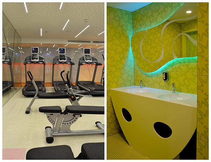 fitness equipment nhow berlin