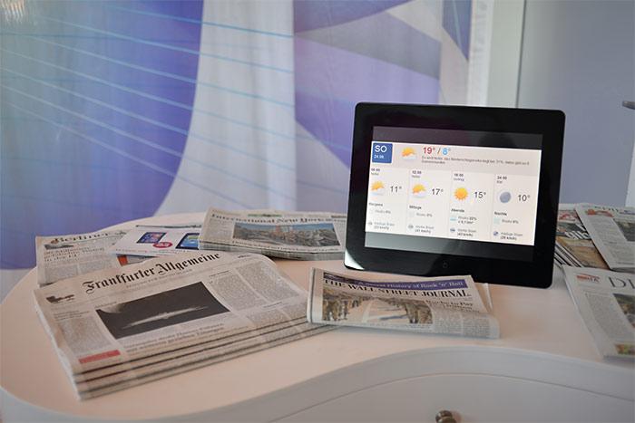 newspapers nhow berlin