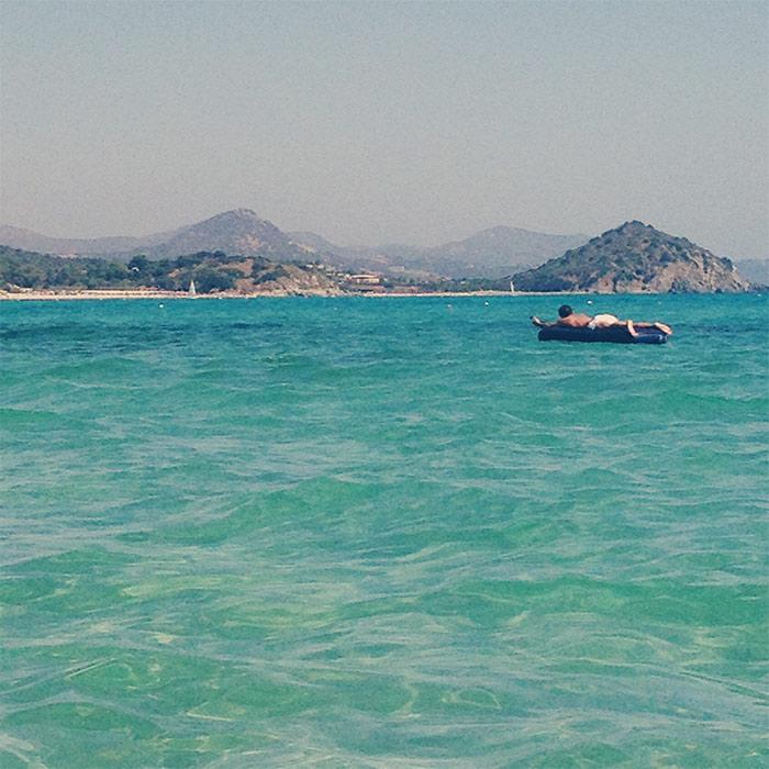 matelas mer Sardaigne