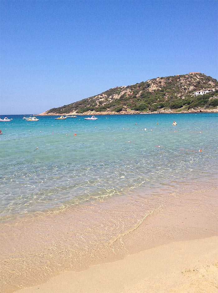 spiaggia bahia sardinia