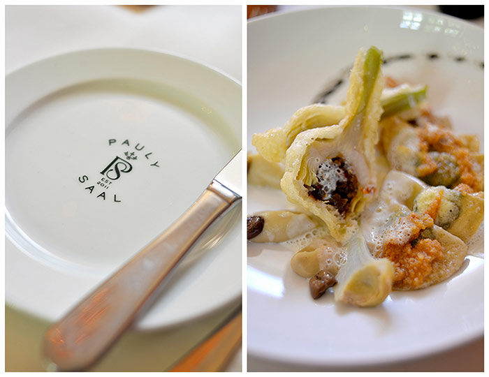 assiette artichauts farcis pauly saal