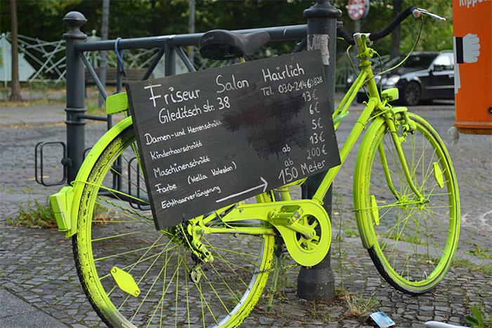 bicyclette verte berlin