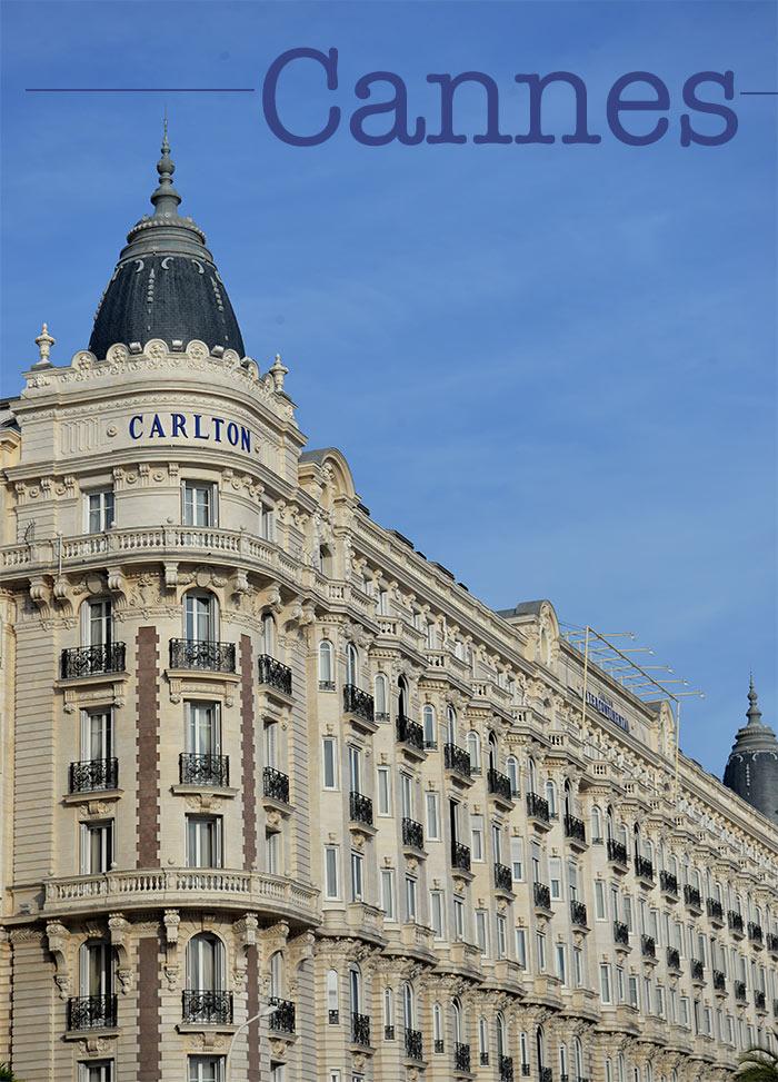Cannes hôtel Carlton