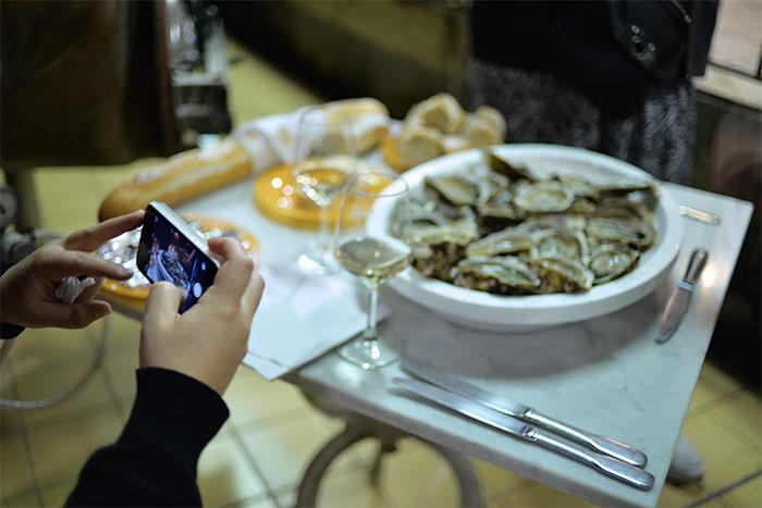 dégustation huîtres