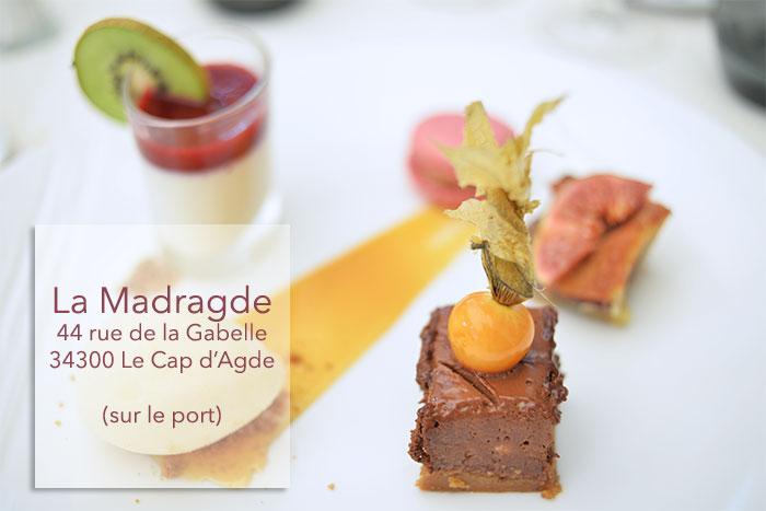 dessert la madragde