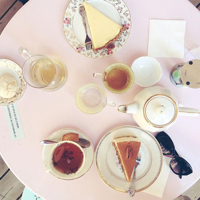 gâteaux sur table