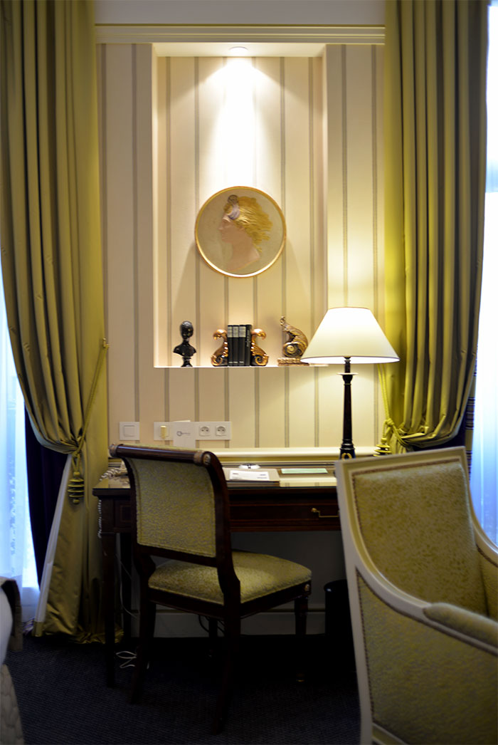 décor hotel napoleon paris