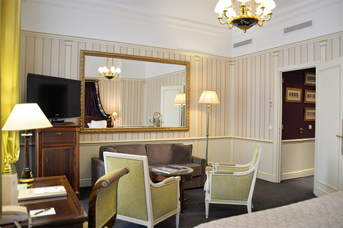 salon junior suite hotel napoleon