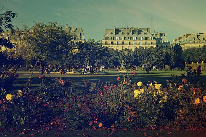jardin tuileries paris
