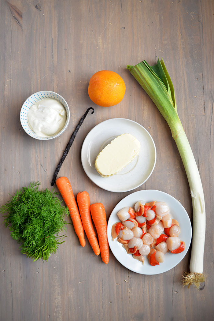 poireaux carottes