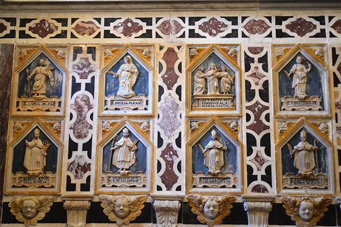 niches chapelle saint saturnin