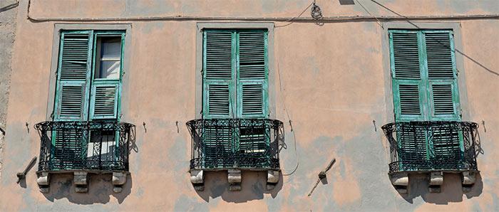 fenêtres volets cagliari