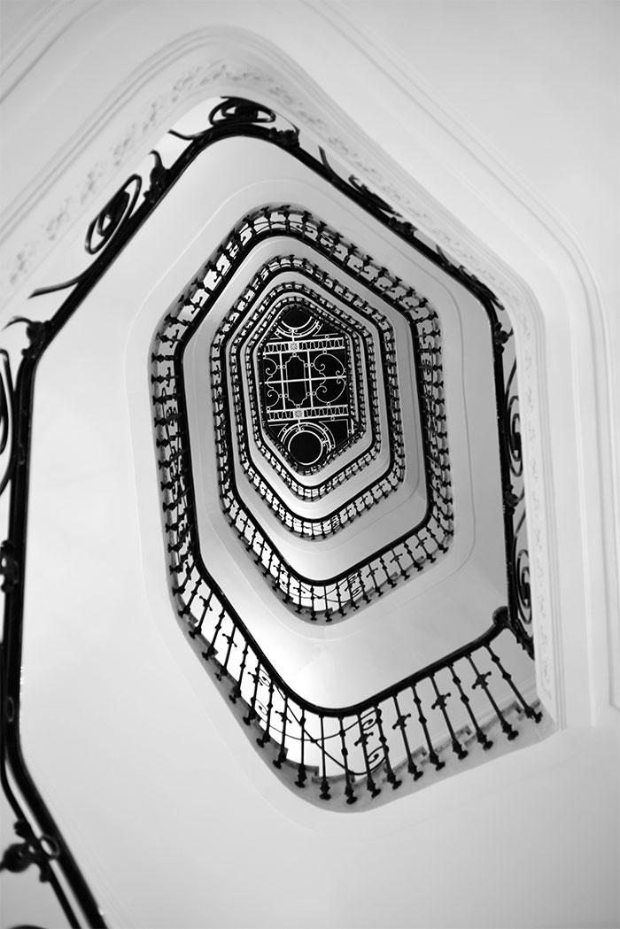 escalier Carlton Cannes