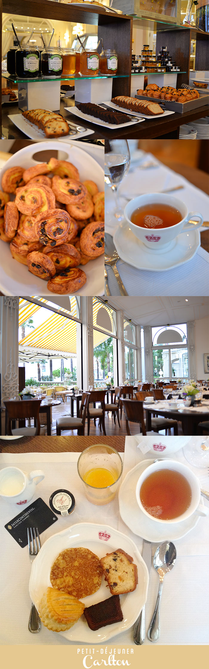 Petit déjeuner InterContinental Cannes