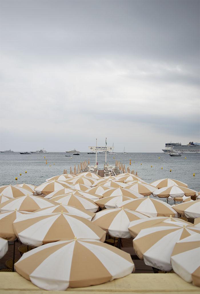 plage privée Carlton Cannes