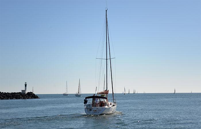 voilier méditerranée
