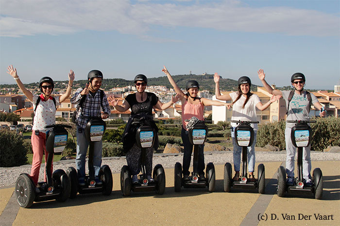 groupe blogueurs segway