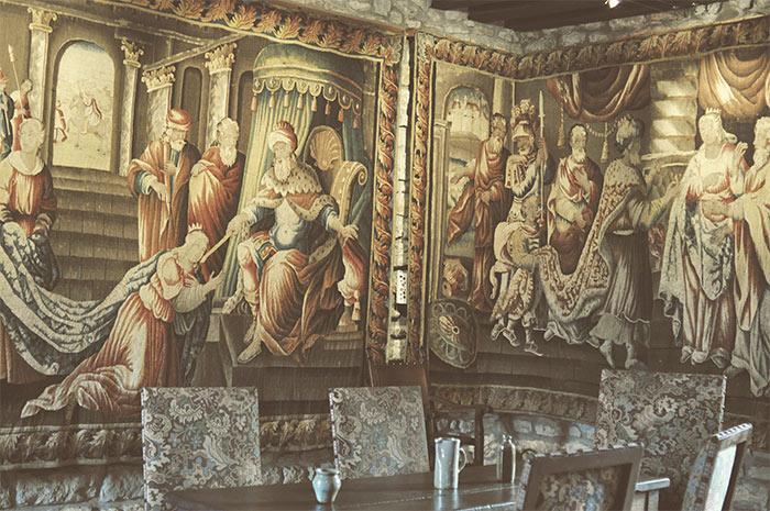 tapisserie chateau de couches