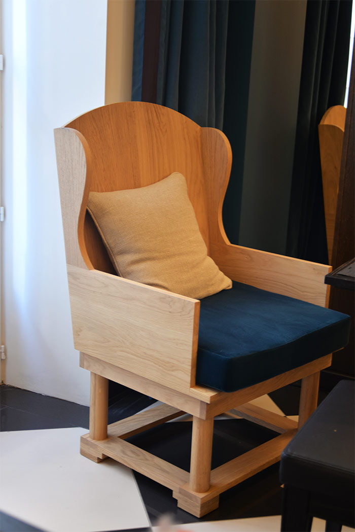 fauteuil chess hotel