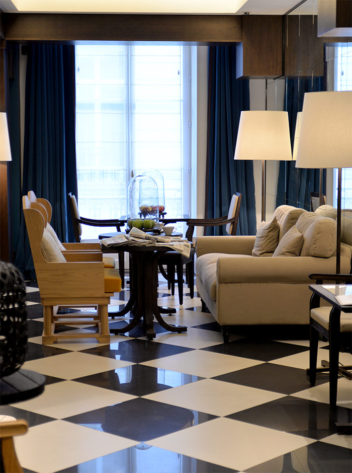lobby chess hotel paris