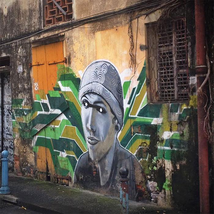 street art Fort de France