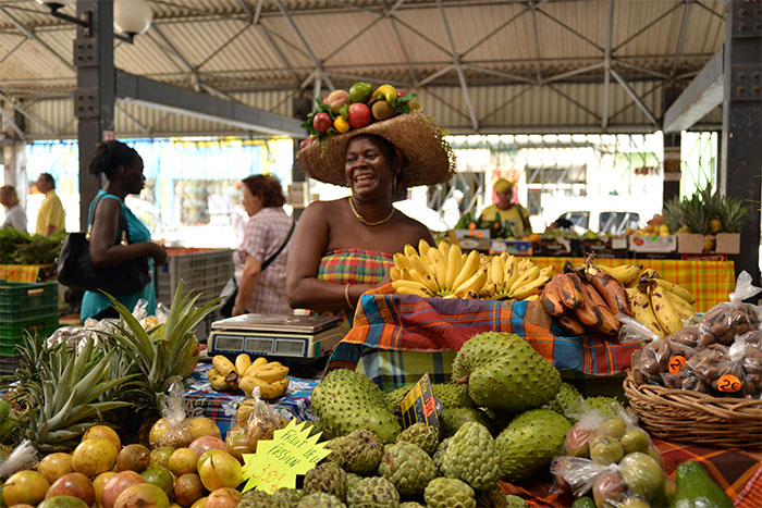 marché fort de france Martinique