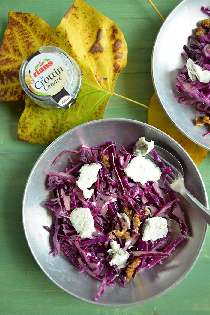salade chou rouge brebis