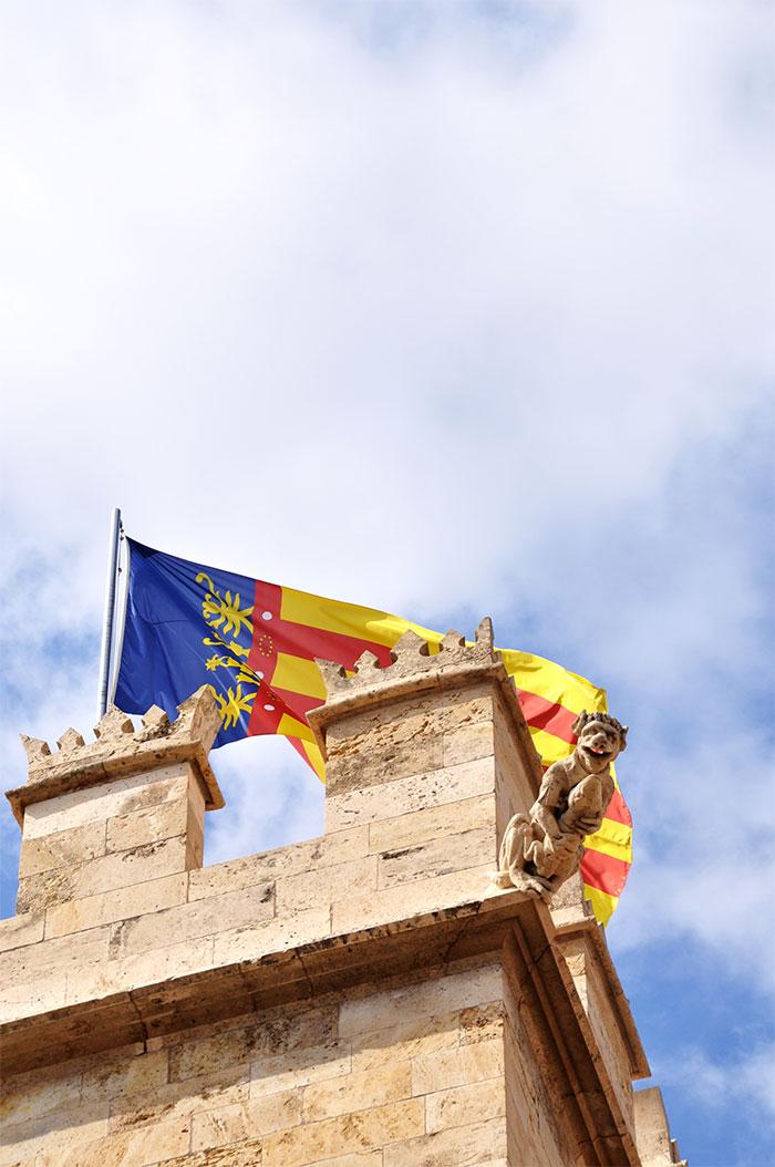 Valencia Spain lonja de la Seda