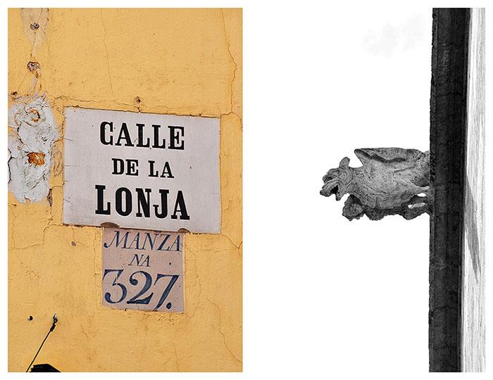 valencia calle de la Lonja