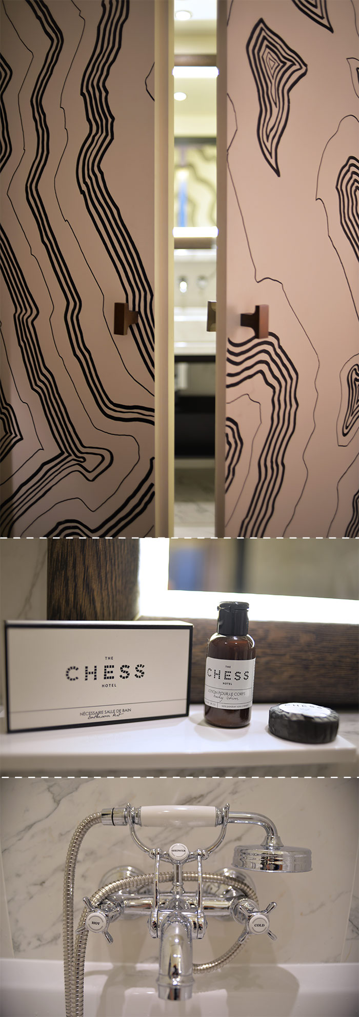 chess hotel bathroom