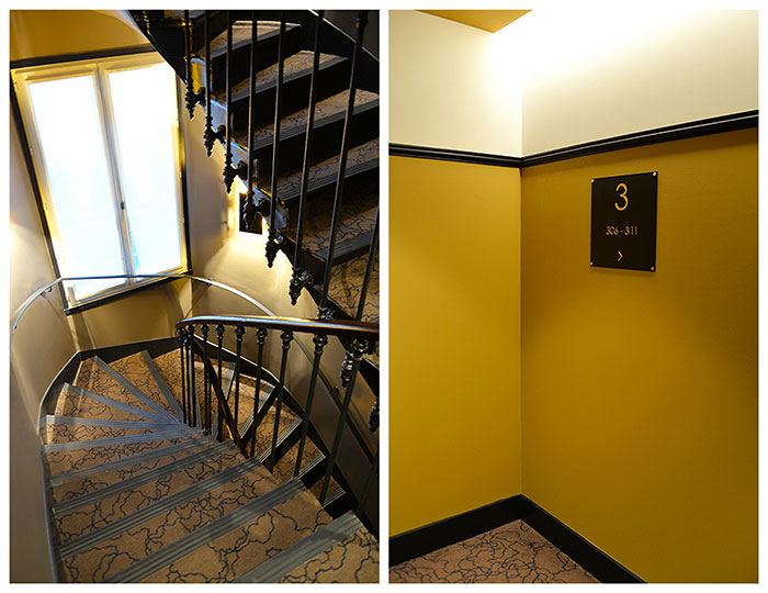 escalier chess hotel alix waline