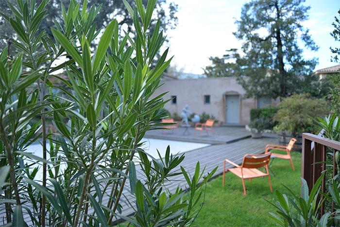 jardin hotel96 marseille